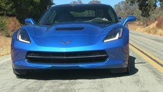 2014 Chevy Corvette Stingray 0-60 MPH First Drive and Review