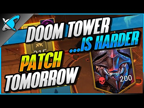 PATCH 3.20 Tomorrow ! | Doom Tower... IS HARDER | 2X Ancient Event!! | RAID: Shadow Legends
