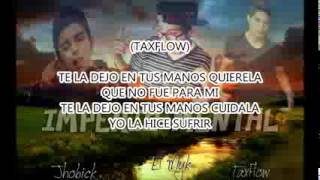 Cuidala  Cancion para Dedicar 2015  Rap De amor   Jhobick Zamora FT Myk & TaxFlow