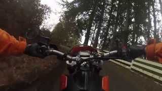 Ktm 625 SMC supermoto wheelies and cops