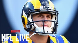 Jared Goff Or Sean Mannion: Who Should Start For Rams? | NFL Live | ESPN