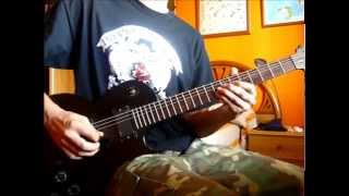 El último Mohicano (The last of the Mohicans) cover guitarra