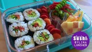 School Lunch Ideas - Homemade Sushi Lunch
