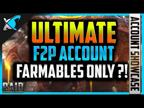 *ULTIMATE* F2P ARBITER... Farmables only ?!!!! | 2FangsInYaz Account Showcase | RAID: Shadow Legends
