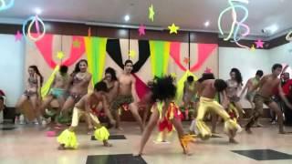 Isabella Sierra Ibagon bailando Mapale