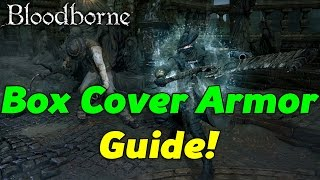 Bloodborne Cover Art Armor Location Guide! Hunter Full Armor Set Tutorial!