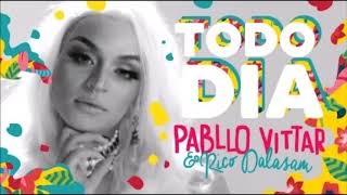 Pabllo Vittar Todo Dia feat. Rico Dalasam (Audio Oficial)