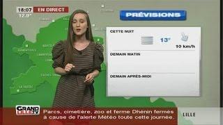 Les Prévisions Météo du 1er Juin 2016 (Lille)
