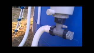 Converting the Summer Escapes Pool Filter to Intex Filteration width=