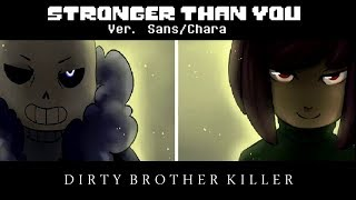 REMAKE Stronger Than You. Sans vs Chara. Español Latino. Cover FabriSans and Aliiz