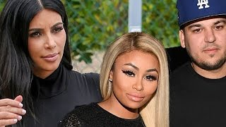 Kim Kardashian WARNS Rob & Blac Chyna About Their Lifestyle After Paris Robbery