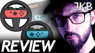 Orzly Racing Wheel Twin pack for Nintendo Switch Review | JKB