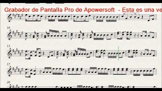 Bailame - Nacho - Partitura - Sheet (Demo violín cover Stewart)