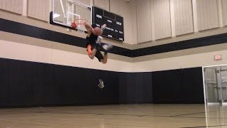 Isaiah Rivera Dunk Session :: 540 Off A Lob :: Facebook Live