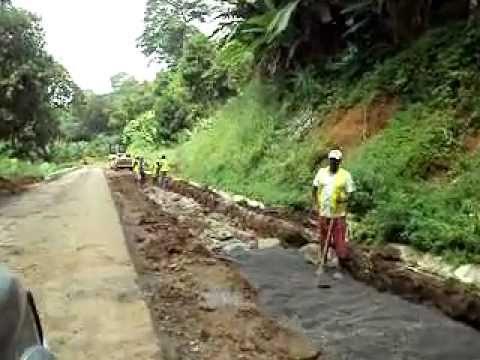 "south of sao tome walk of ""porto alegre""2011 africa island"