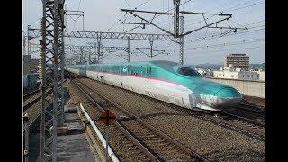 EJP070909 Japan Tohoku Shinkansen train trem bala 東北郡山駅 Синкансэн ชินคันเซ็น รถไฟความเร็วสูง ญี่ปุ่น