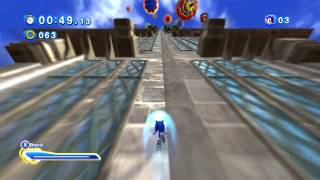 Sonic Generations- Sonic Runners Music Port/Rooftop Run 60FPS