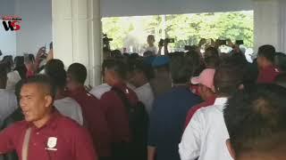 Jokowi Tidak Menyebut Angka 2 Saat Hitungan Mundur pada Acara Jalan Sehat di Kendari