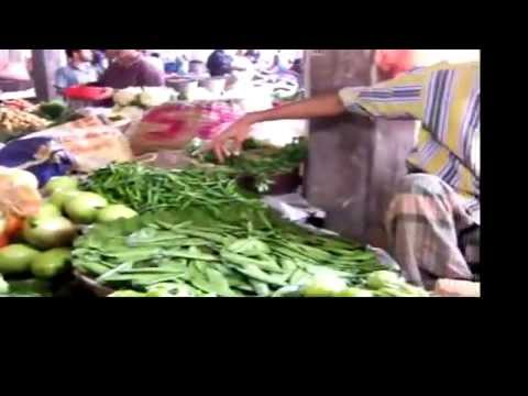 Bangladesh vegetables and Dhaka traffic jam