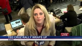 Ted Cruz stumps in Scotia (noon LIVE)