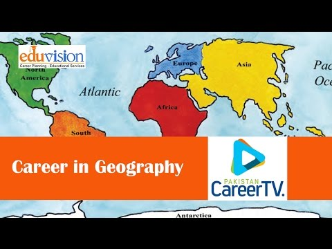 Career in Geography