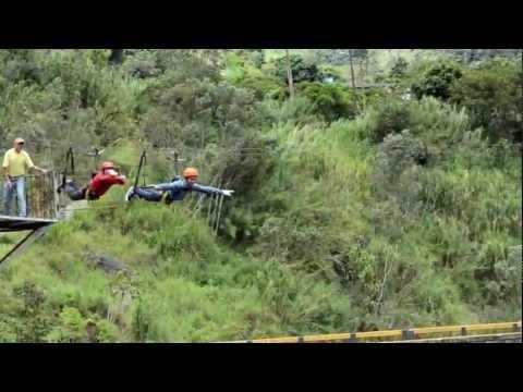 Gangnam Style aereo!! Canopy …Baños – Ecuador 2012