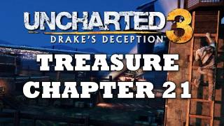Uncharted 3 Treasure Locations: Chapter 21 [HD]