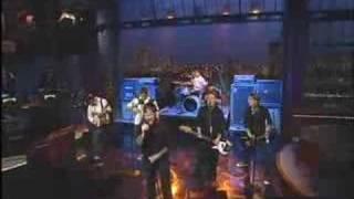 Dropkick Murphys - I'm Shipping Up To Boston Live Letterman