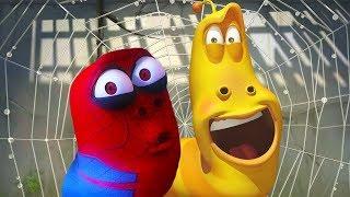 LARVA - SPIDER RED | Cartoon Movie | Cartoons For Children | Larva Cartoon | LARVA Official