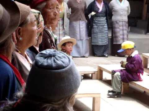 Namche Sherpa Dance on Buddha's Birthday