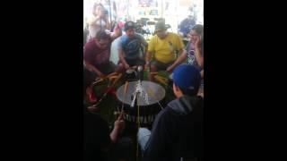 Black Bear singers jamming a crow hop @ Toronto 2016