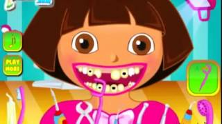 Dora the explorer dentist game