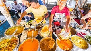 INDIAN STREET FOOD of YOUR DREAMS in Kolkata, India | ENTER CURRY HEAVEN + BEST STREET FOOD in India width=
