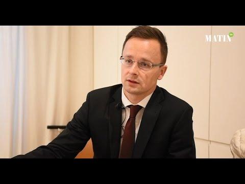 Entretien avec Peter Szijjarto, ministre hongrois des Affaires étrangères et du commerce