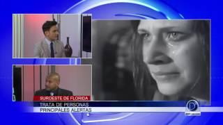 Alex Olivares explica la problemática de la trata de personas en el Suroeste de Florida