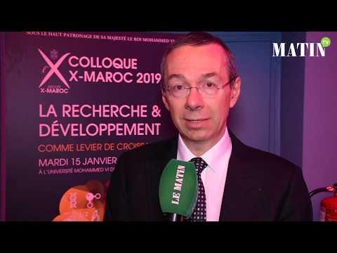 Video : Eric Labaye : «Nous avons plusieurs partenariats avec des universités marocaines»