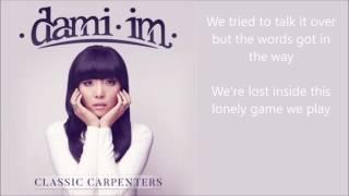 Dami Im - This Masquerade - lyrics - Classic Carpenters album