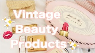 Vintage Makeup and Beauty Collection! Vintage Beauty Products!
