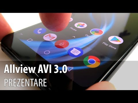 Allview AVI 3.0 Prezentare Video (Demo pe Allview X4 Soul Infinity Plus)