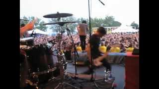 Sleeping With Sirens- If You Can't Hang (Live, Toronto Warped Tour 2012)