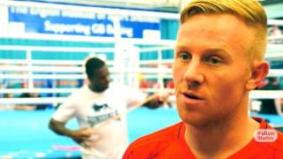 Mark Duffy on boxing workout