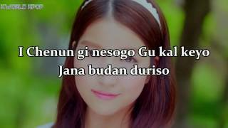 GFRIEND Me gusta tu    Pronunciacion   Easy Lyrics  Canciones Coreanas como suenan
