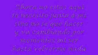 nada sin ti - jerry rivera (con letra)....