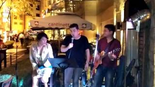 Wherever You Will Go Cover by Spanky feat Acoustic Indulgence at Rastro