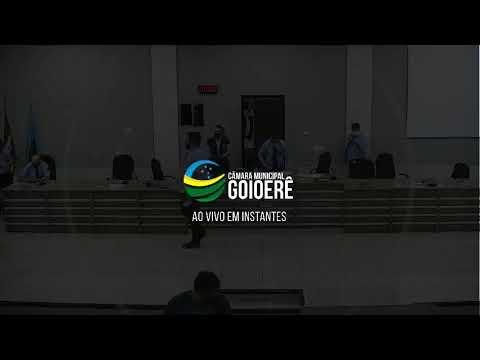 Vídeo na íntegra da Sessão da Câmara Municipal de Goioerê desta segunda-feira, 12