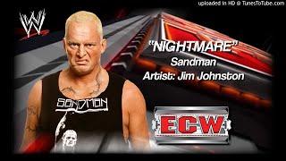 "Sandman 2006 - ""Nightmare"" WWE ECW Entrance Theme"