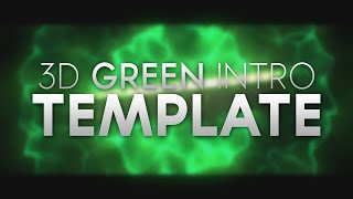 3D Green Shockwave Intro Template | By UltraBeats (Free!)