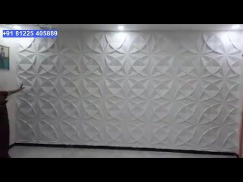 3D PVC Wall Panel Decor +91 81225 40589