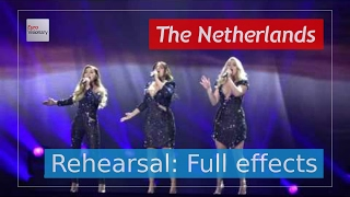 OG3NE - Lights and Shadows - The Netherlands - Second Rehearsal - Eurovision Song Contest 2017 (4K)