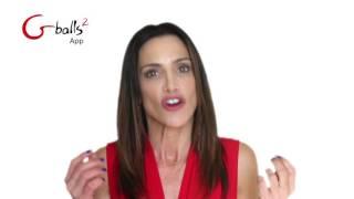 video Vibrační vaginální činka Gballs 2